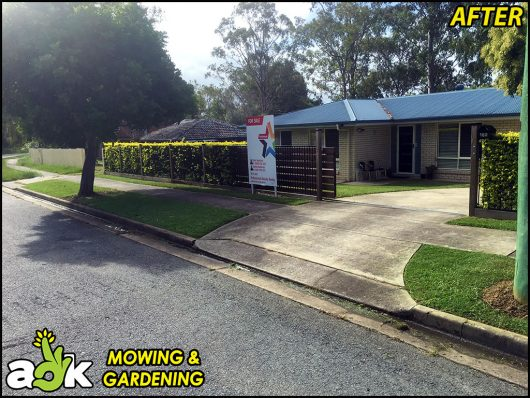 11 – Goodna Ipswich Queensland – Lawn Mowing – Professional Results Realty – AOK Mowing