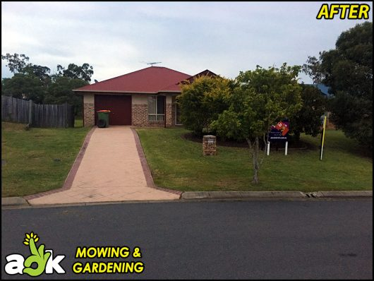 18 Springfield Lakes Ipswich Queensland – Lawn Mowing – Purple Bricks Real Estate – AOK Mowing